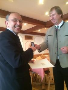 Ehrung Landrat und Gerhard